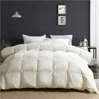 APSMILE Heavyweight Goose Down Comforter - Luxury