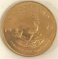 Gold Coin Auction Ending Dec. 7th at 9am
