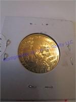 HARRISON GOLD DOLLAR