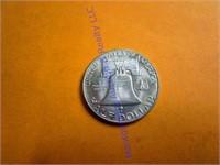 1963D FRANKLIN HALF DOLLAR