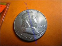 1963D FRANKLIN HALF DOLLAR