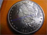 1884D MORGAN DOLLAR