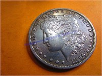 1896D MORGAN DOLLAR