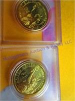 4 PRESIDENTIAL GOLD DOLLARS