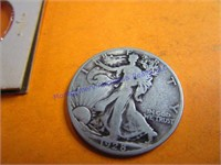1928S WALKING LIBERTY HALF DOLLAR