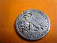 1934D WALKING LIBERTY HALF DOLLAR