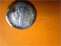 1918 MECURY DIME