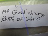 BIRTH OF CHRIST CHARM