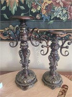 (2) Candle Holders