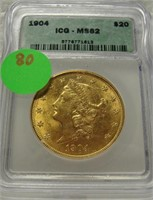 COIN & CURRENCY AUCTION 11-22-2020