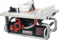 KING INDUSTRIAL 10 INCH PORTABLE WORKSITE