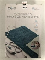 PORE HEATING PAD SIZE KING