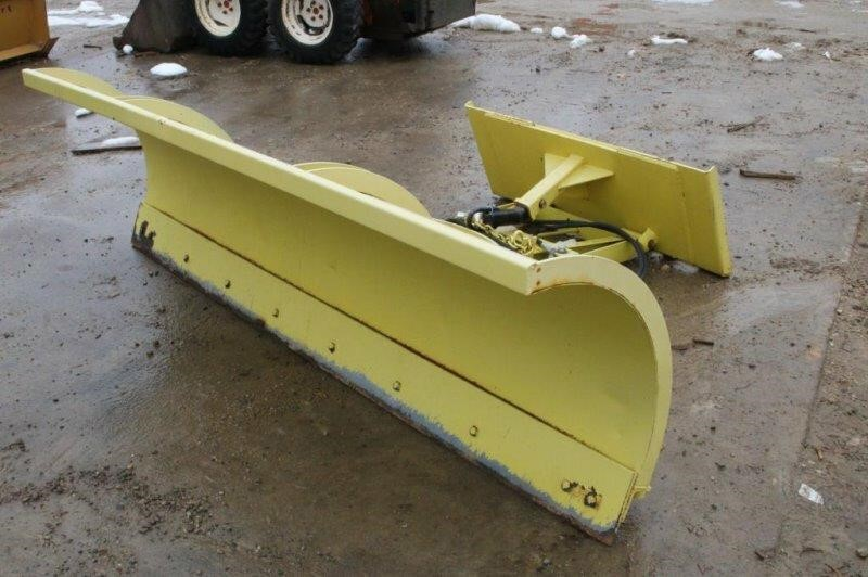 Skid Steer 8Ft Snow Plow, Also Detachable Mover