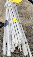 Mixed lot of schedule 40 conduit  various sizes