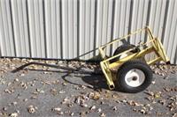 Cricket Pipe Transport Cart