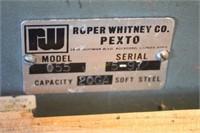 Pexto Drive Cleat Bender Model 055