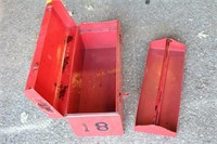 """Two 20"""" Tool Boxes"""