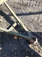 Single Axle Utility Trailer with Pintle Hook