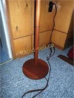 Retro Teak Floor Lamp