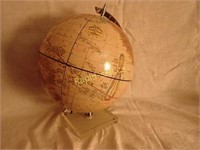 Vintage Grams Imperial World Globe
