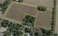 Perry Co. IL 18.52 acres cropland or building lot.