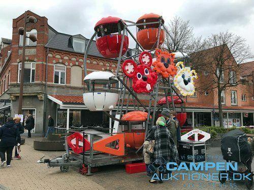 Børne pariserhjul SW Amusement på trailer, T 2200