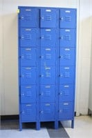 18 Unit Lyon Lockers