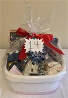 Spa Night Gift Basket