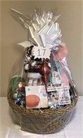 Cozy and Warm 'Winters Calling' Gift Basket #1