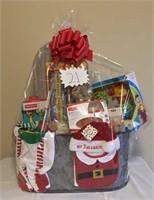 My 1st Christmas Gift Basket