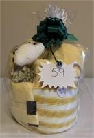 Ultimate Towel Gift Basket