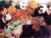 Collection of Ty Beanie Babies