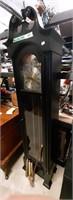 Black Howard Miller Grandmother Clock
