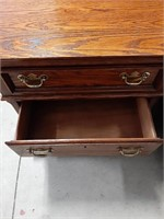 Lexington 3 Drawer Bedside Table