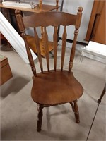 Wooden Dining Room Table With 6 Chairs(1 Is