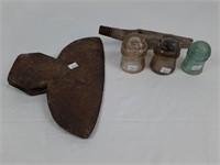 Unique axe head and dominion insulators