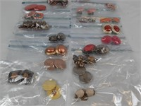 Lot of Clip on Earrings