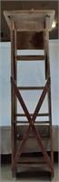 """Wooden ladder 70 1/4"""" tall"""