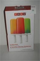 ZOKU 6 MOD POP ICE POP MOLDS