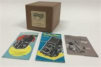 Vintage Rolleiflex 2.8F Xenotar Camera Sealed Box