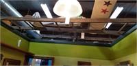 Antique wooden ladder - 8'