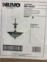 Nuvo 3 Bulb Pendant Light - New in Box