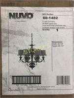 Nuvo 6 Light Chandelier - New in Box