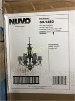 Nuvo 3+6 Light Chandelier - New in Box