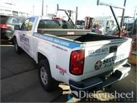 2016 Chevrolet Colorado Tk, VIN 1GCHTBE39G1192550