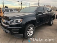 2017 Chevrolet Colorado Truck, VIN 1GCHTCEN1H13304