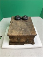 Vintage & Antiques Auction - w/ Wooden Wall Phones & More