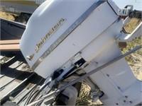 Aluminum Fishing Boat with Johnson Super Sea Horse
