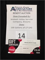 Ag In The Classroom Benefit Auction