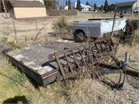 Two Place Snowmobile Trailer